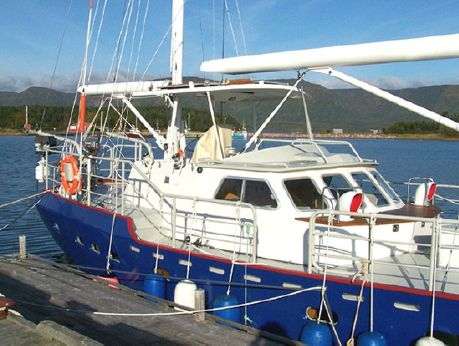 2003 Bruce Roberts 52' Steel Ketch