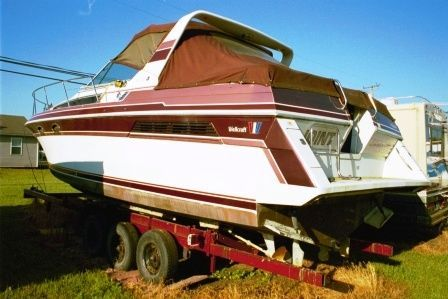 1989 Wellcraft 3200 ST. TROPEZ with Trailer