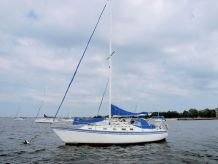 1982 Hunter 37' Cherubini Cutter