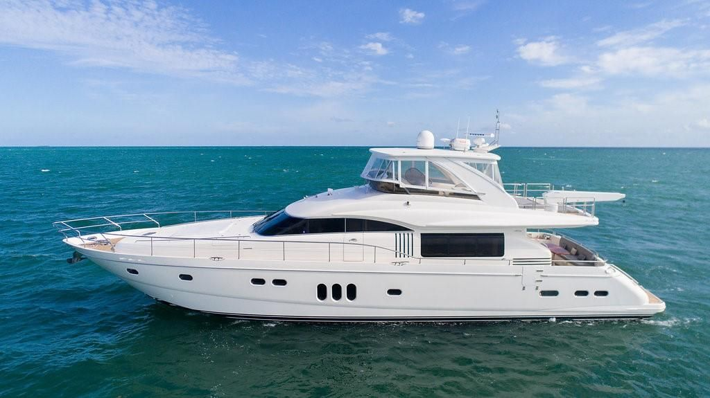 2008 viking sport cruisers by princess 75 motor yacht for Princess 75 motor yacht