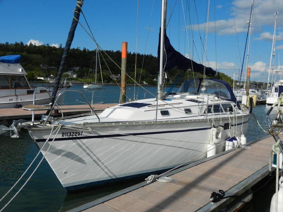 1991 Hunter 33 5 Sail Boat For Sale - www yachtworld com
