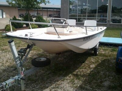 1990 Wahoo 15FT SIDE CONSOLE