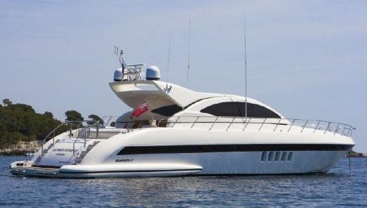2003 Mangusta 72 - New Engines