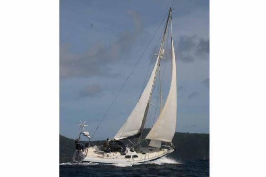 1994 Callisto 45ft Custom Steel Cutter