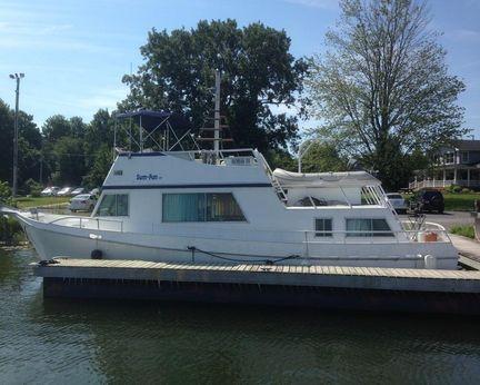 1995 Custom Marlin 40 Trawler LRC (aluminum)
