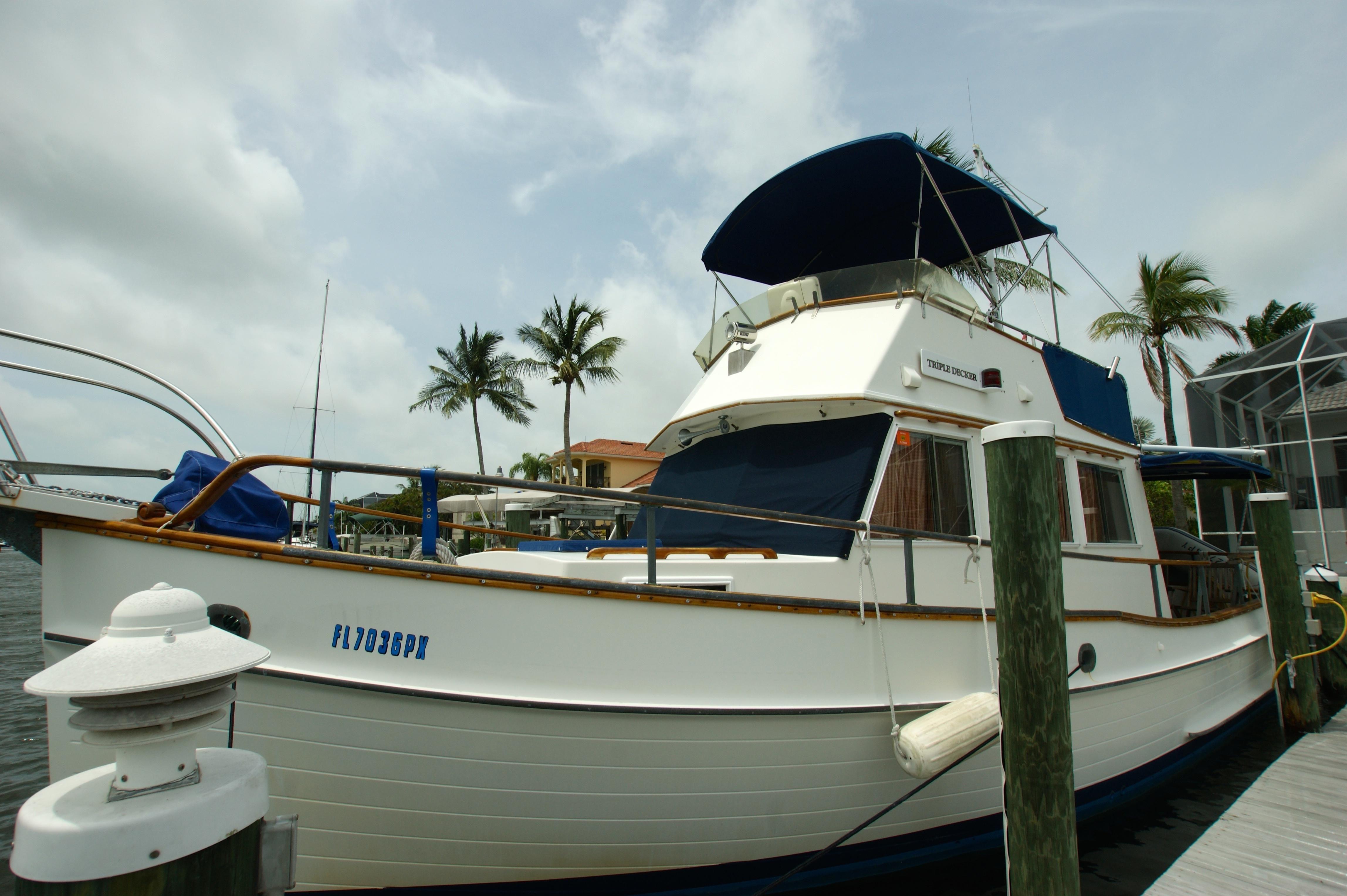 3 Year Loans >> 1988 Grand Banks 32 Sedan Power Boat For Sale - www.yachtworld.com
