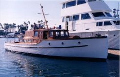 1936 Classic Yacht Raised Deck Express Cruiser