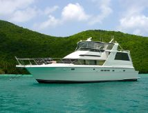 1997 Hatteras Motor Yacht Fly Bridge