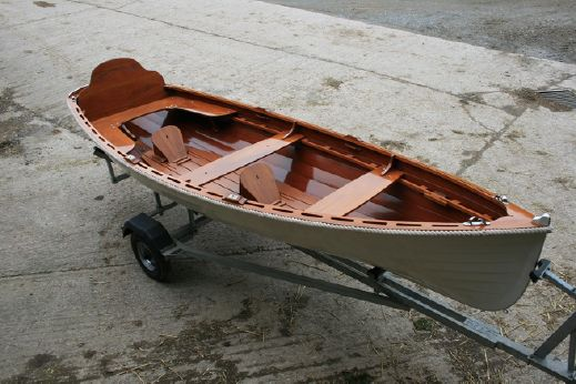 2004 Ian Oughtred Rowing skiff