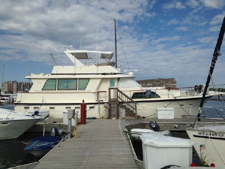 1985 Hatteras 53 Extended Deckhouse Motor Yacht