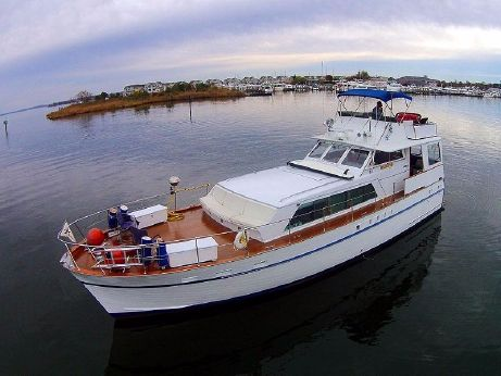 1970 Matthews 53 Flush Deck Motor Yacht
