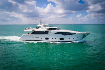 thumbnail photo 2: 2012 Ferretti Yachts Custom Line 100
