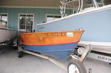 2009 Custom 15' Stauter Boat Works