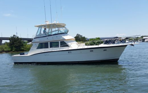 1986 Hatteras Conv. Customized by Hurley