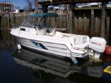 1995 Aquasport 225 Eplorer W/ Rebuilt Eng.