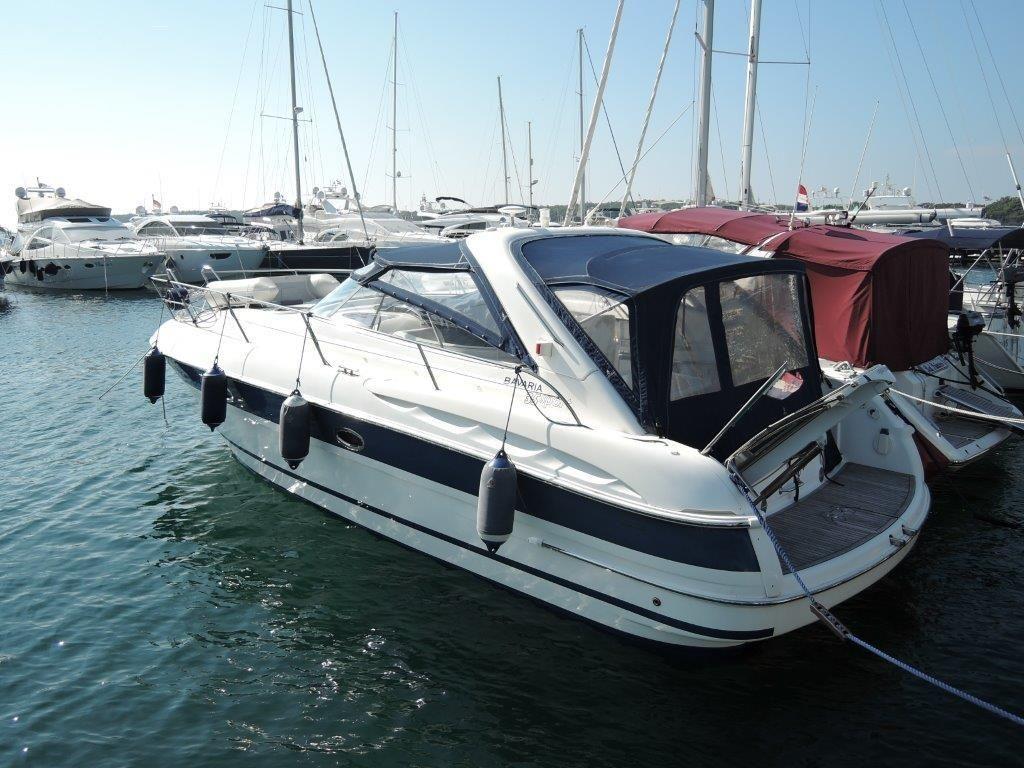 2007 bavaria motor boats 35 sport power boat for sale for Motors for boats for sale
