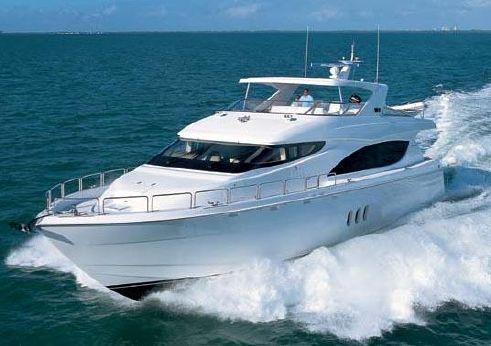 2010 Hatteras 80 Motor Yacht