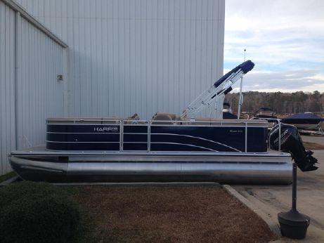 2015 Harris Cruiser 220 CWDH with 115HP