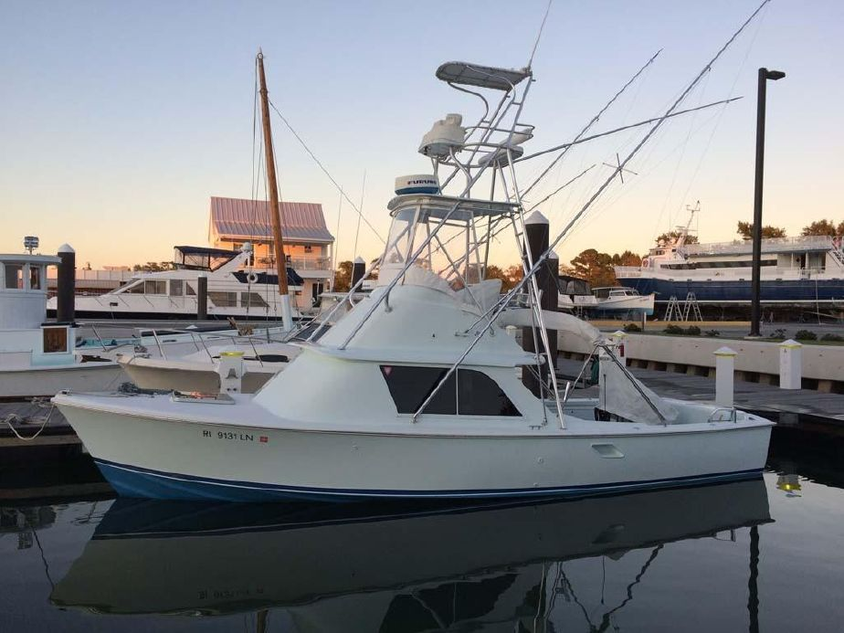 1972 Bertram 31 Flybridge Cruiser Power New and Used Boats for Sale