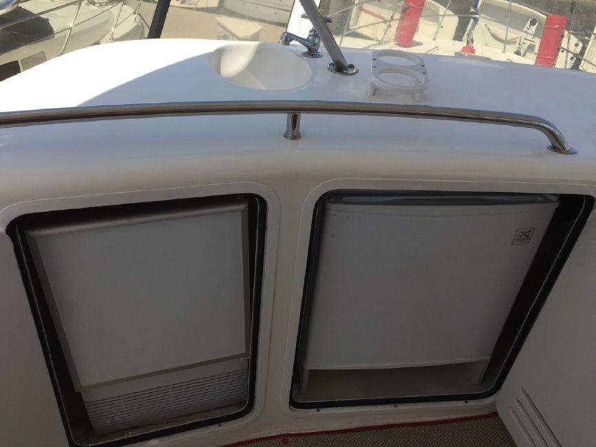Sea Ray 480 Sedan Flybridge Refrigerators