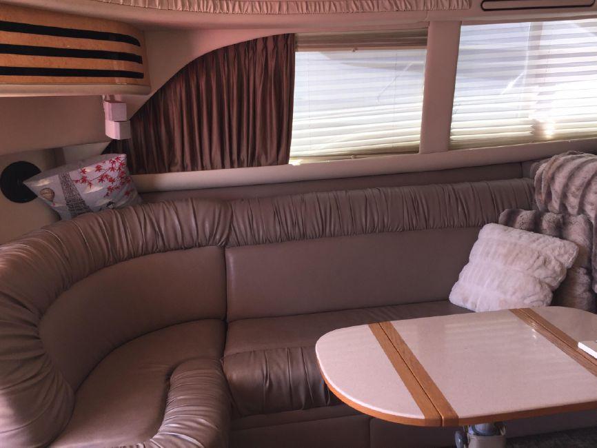 Sea Ray 480 Sedan Salon Sofa