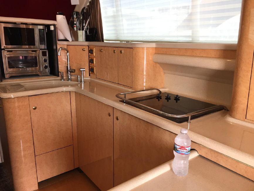 Sea Ray 480 Sedan Galley Kitchen
