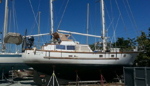 1984 Bruce Roberts 48 Pilothouse Cutter Ketch