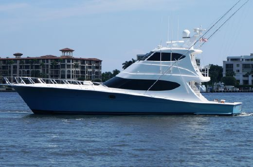 2012 Hatteras Enclosed Bridge GT