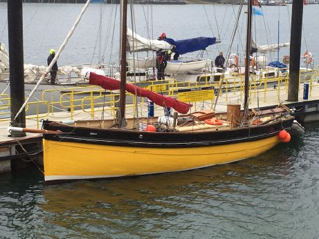 1904 Traditional Looe Lugger