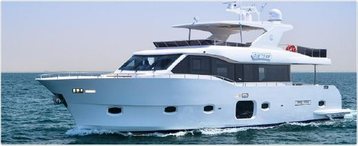 2013 Gulf Craft 75 Explorer
