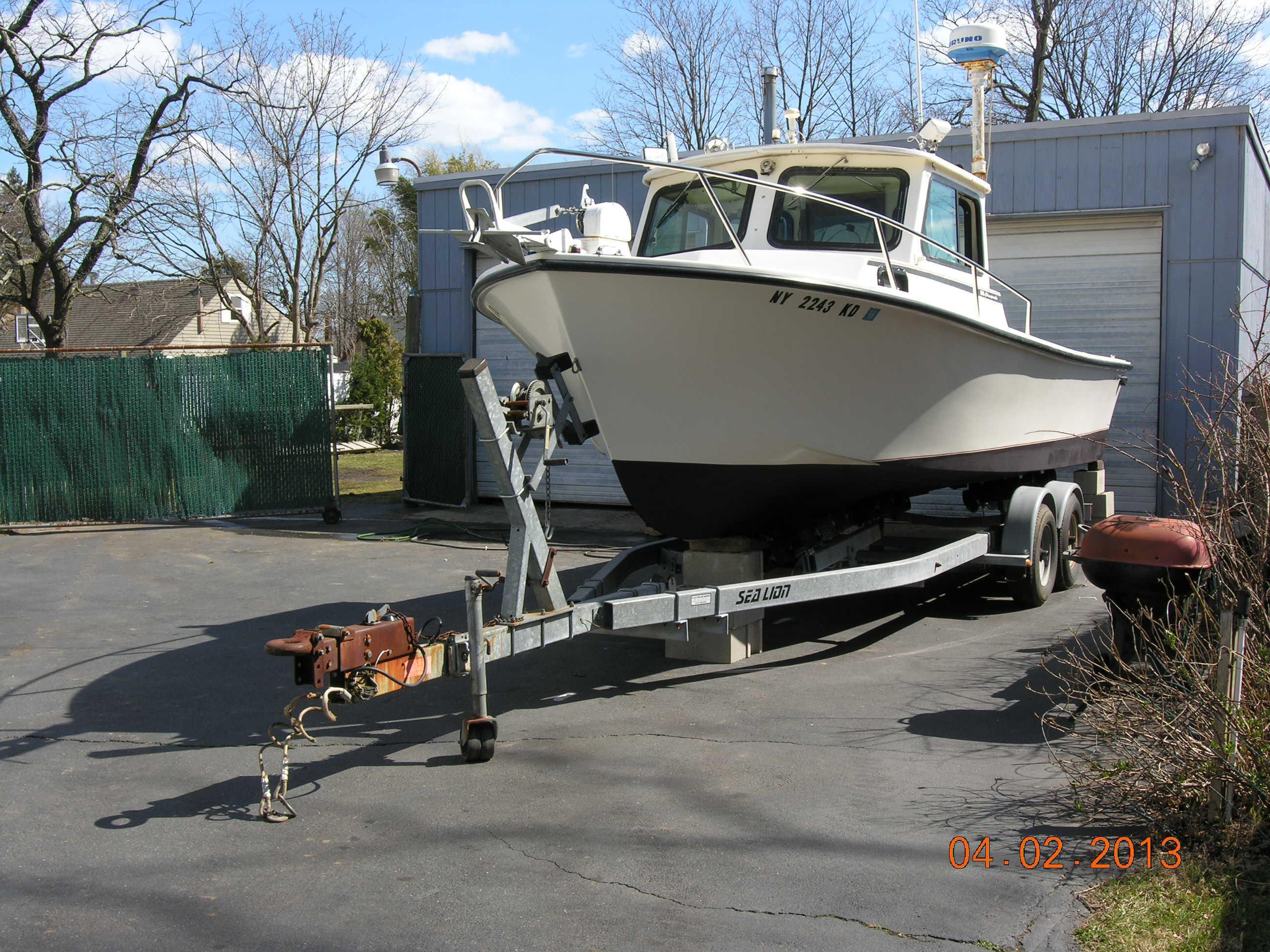 25 ft 1995 steiger craft 25 chesapeak