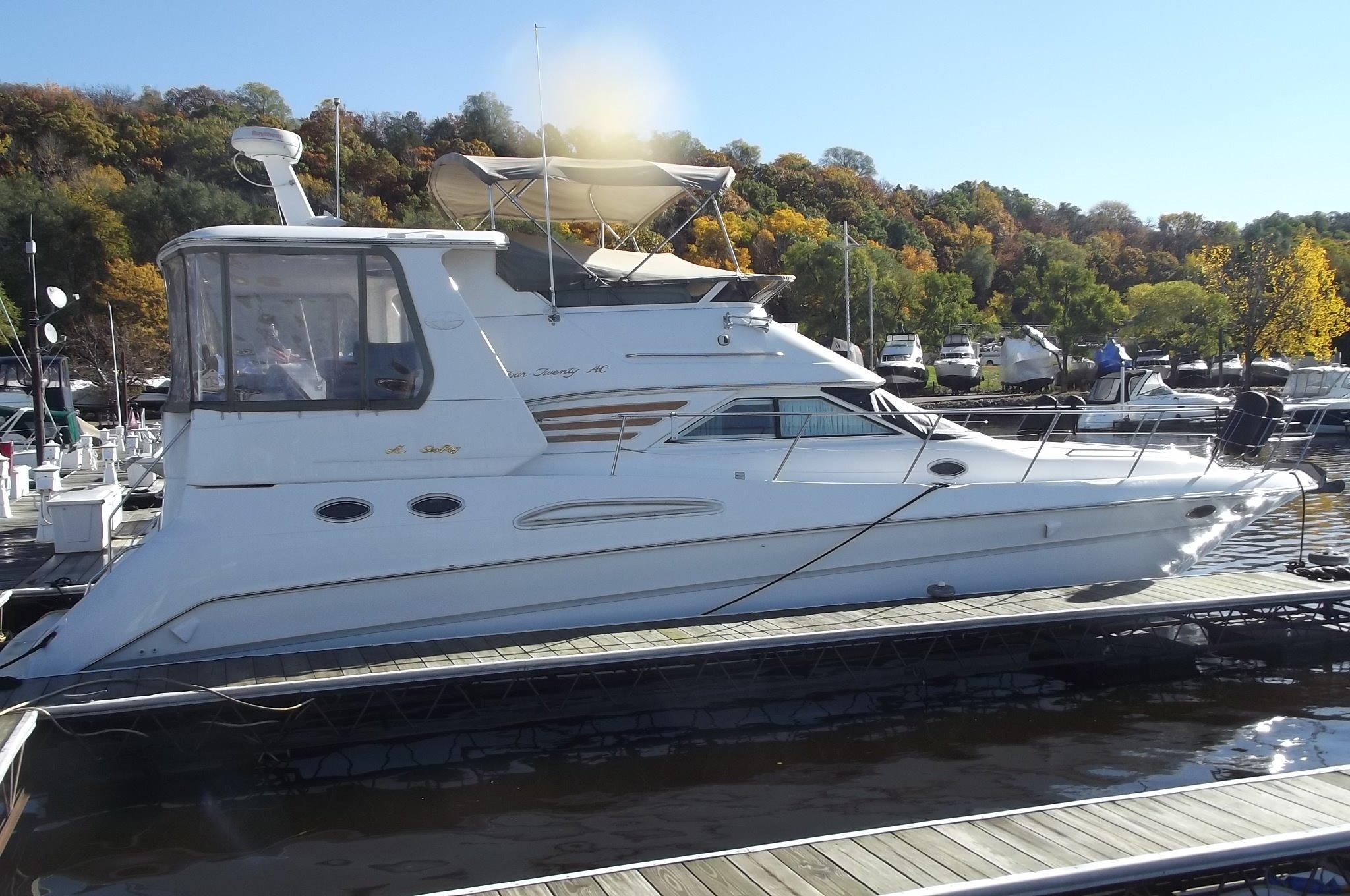 2000 Sea Ray 420 Aft Cabin Power Boat For Sale - www ...