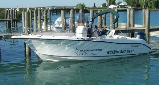 2004 Seaswirl 2101 Center Console O/B