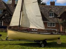 1960 Classic Hillyard Sailing Dinghy