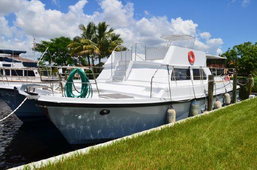 1984 C&C Logical 46 Power Catamaran