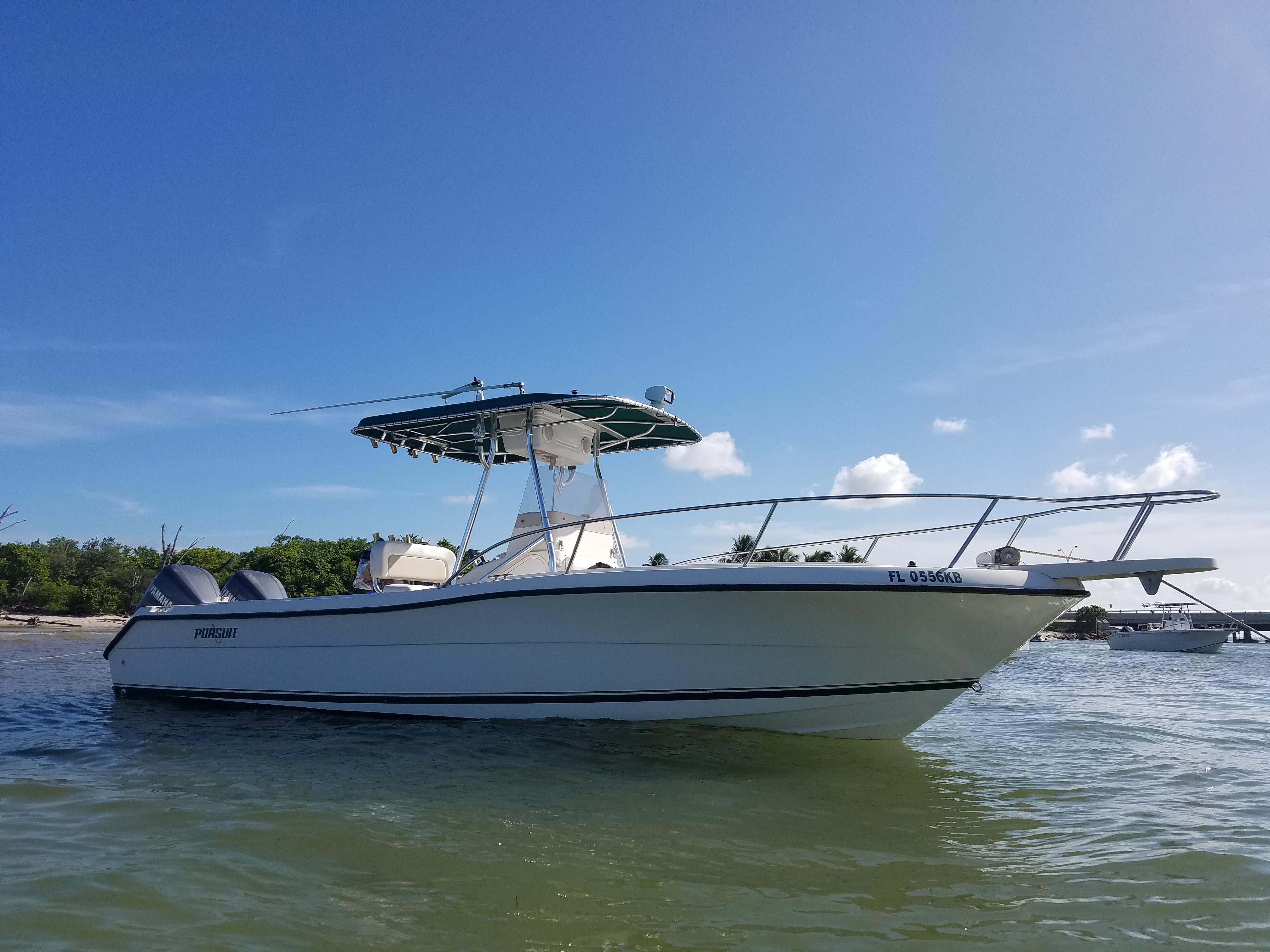 1997 Pursuit 2470 Center Console Power Boat For Sale Www