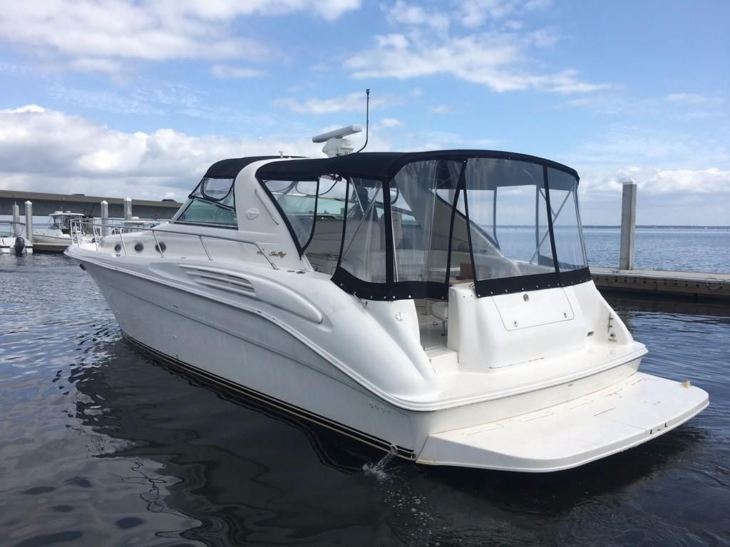 1997 sea ray 450 sundancer power boat for sale www for Sea ray motor yacht for sale