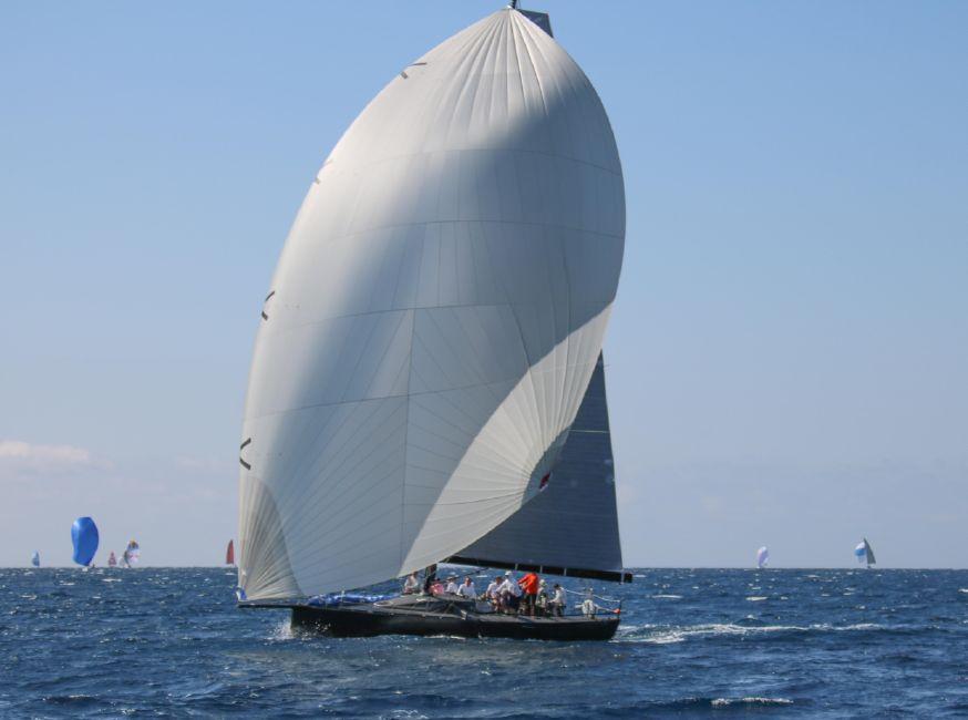 Rogers 46 Carbon Fiber Racing Sailboat Spinnaker