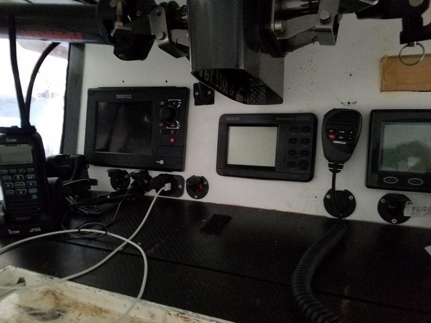 Rogers 46 Carbon Fiber Sailboat Electronics