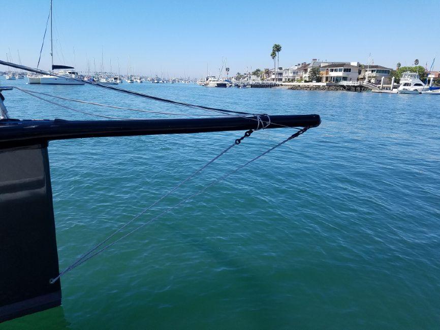 Rogers 46 Carbon Fiber Sailboat Bowsprit