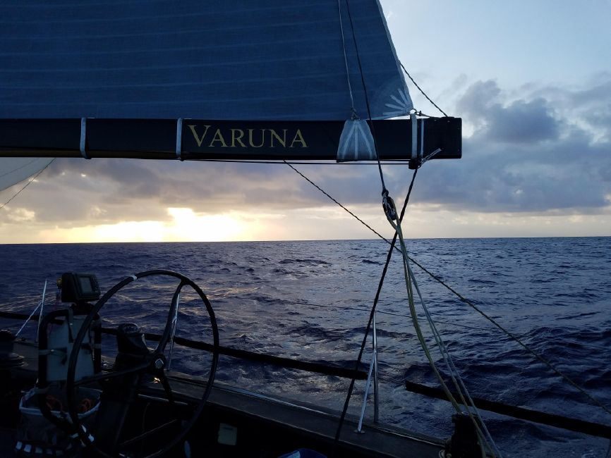 Rogers 46 Carbon Fiber Racing Sailboat Boom