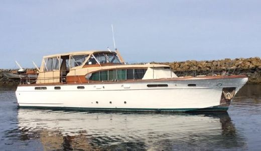 1957 Chris Craft Conqueror Bridge Deck MY