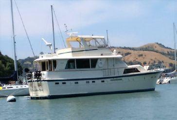 1984 Hatteras 53 ED Stabilized Motoryacht
