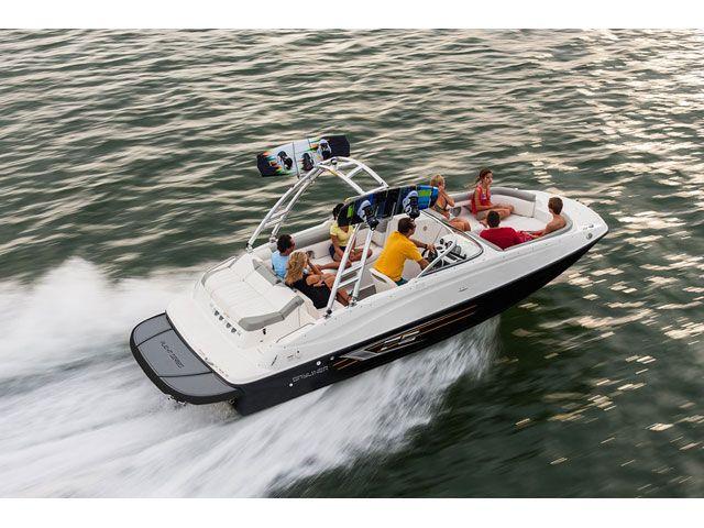 2018 bayliner deck boat 215