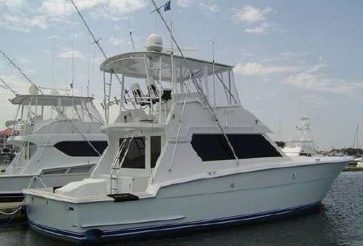 1989 Hatteras Convertible SF