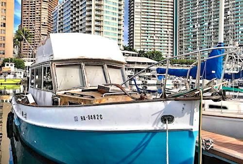 1972 Grand Banks 32 Sedan Power Boat For Sale - www