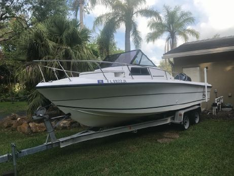 1995 Angler 22 Walk Around 2008 Yamaha