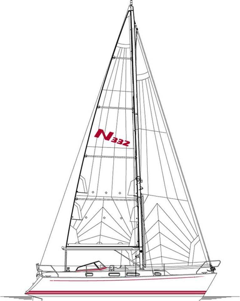 2005 Najad 332 Sail Boat For Sale