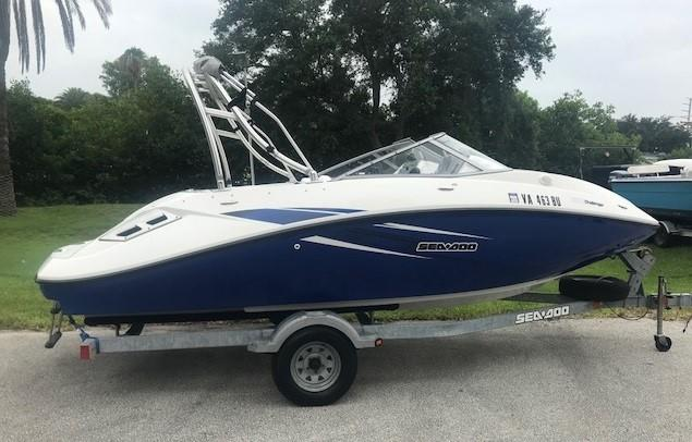 2010 Sea Doo Sport Boats Challenger 180 Power New And Used Boats For
