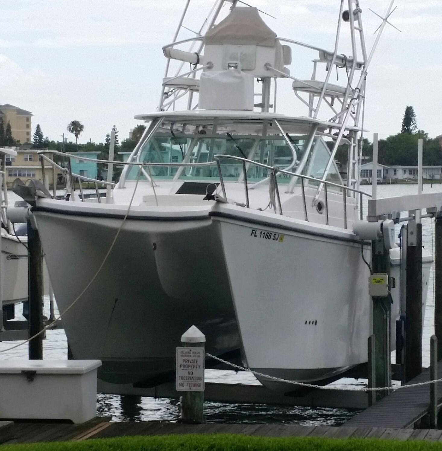 Suzuki Outboards For Sale >> 2008 Baha Cruisers 340 King Cat 34' Power Boat For Sale
